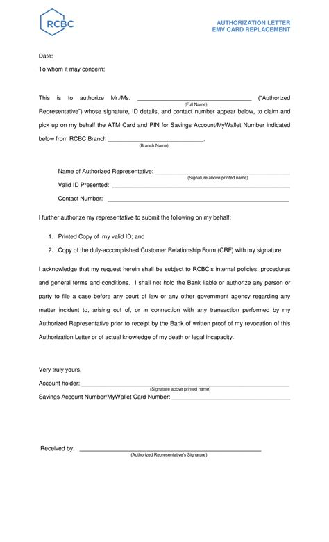 9+ Authorization Letter to Receive Documents Examples