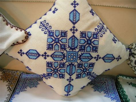 broderie marocaine point de fes naima
