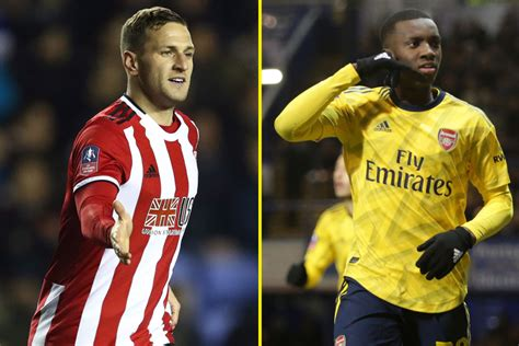 We felt the injustice and we showed good character to come back. Sheffield United vs Arsenal LIVE today: Exclusive coverage ...