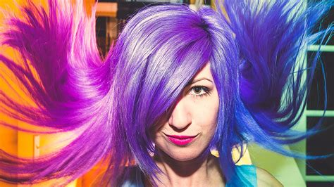 Color Changing Hair Secret Revealed! Blue, Purple