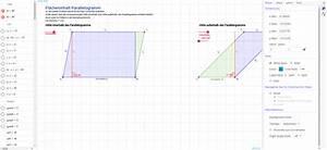 Flächeninhalt Berechnen Parallelogramm : fl cheninhalt parallelogramm geogebra ~ Themetempest.com Abrechnung