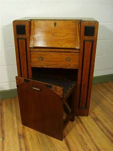 Bureau Art Deco : antique art deco oak students bureau c1920 198129 ~ Melissatoandfro.com Idées de Décoration