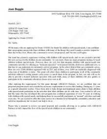 Cover Letter For Funding Grant Cover Letter