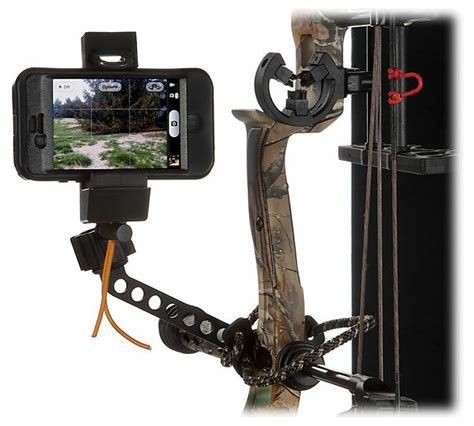 bow phone mount muddy outdoors bow mount phone holder