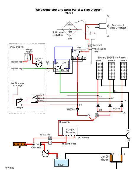 Wind Generator Solar Wiring Diagram Panels