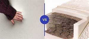 memory foam vs mattress mattress comparison
