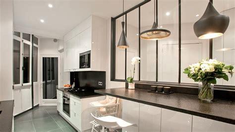 cuisine en verriere comment installer une verrière dans sa cuisine