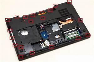Lenovo Ideapad Y580 Disassembly