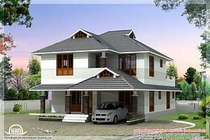 1760 sqfeet beautiful 4 bedroom house plan for Beautiful 4 bedroom house plans