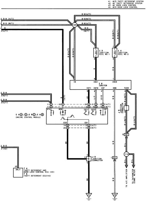 00 Celica Wiring Diagram Starting by 92 Celica Distributor Wiring Diagram Wiring Library