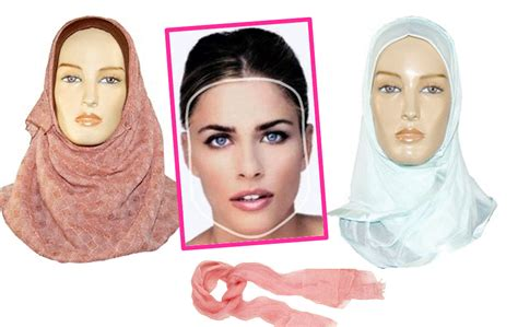knowing  face shape   hijab hijab