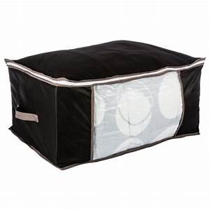 Housse De Rangement : housse de rangement noir 60x45x30cm ~ Louise-bijoux.com Idées de Décoration