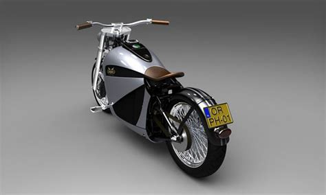 Meet The Orphiro Electric Motorcycle Cruiser Concept