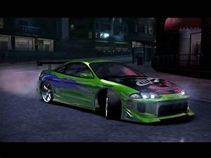 Need For Speed Carbon Mitsubishi Mitsubishi Eclipse Gsx