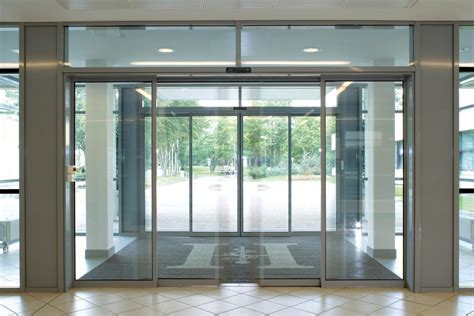 Sliding Entrance Doors by Automatic Sliding Doors Comech Engineering Specialists