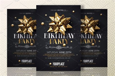 party invitation designs examples psd ai eps