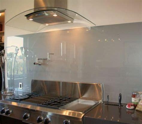 Trendy Minimalist Solid Gl Ee  Kitchen Ee   Backsplashes