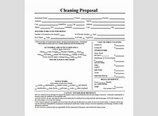 Search Results Free Apartment Cleaning Bid Proposal