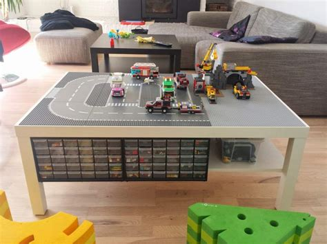 It's a great coffee tableelizabethit's a great coffee table we love it5. Lack Lego Playtable with undertable storage - IKEA Hackers