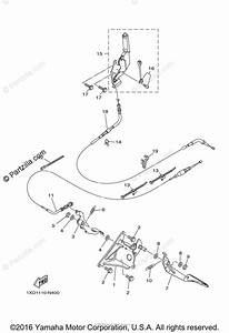 Yamaha Side By Side 2014 Oem Parts Diagram For Pedal Wire
