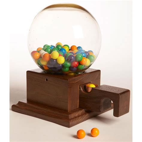 glass globed gumball machine woodworking plan  wood