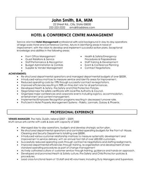 9 best Best Hospitality Resume Templates & Samples images on Pinterest | Resume templates