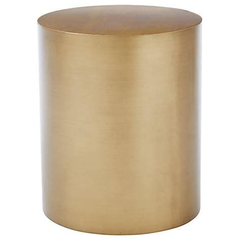 metal drum side table buy west elm metal drum side table john lewis