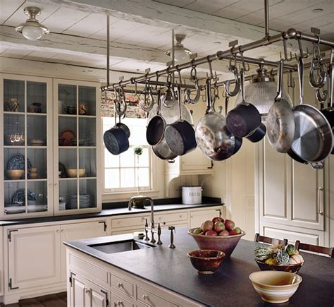 kitchen island with pot rack kitchen planning and design pot racks