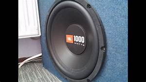 Jbl Subwoofer Bass Test