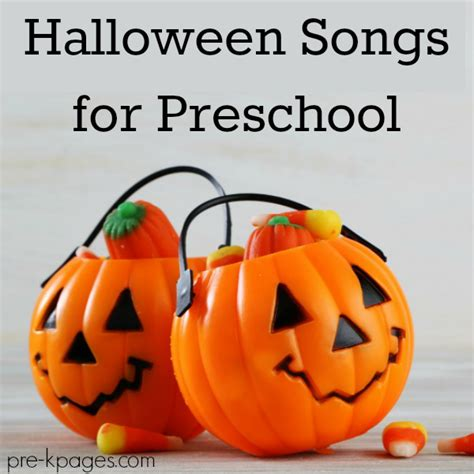songs for preschool pre k pages 196 | halloween songs and videos