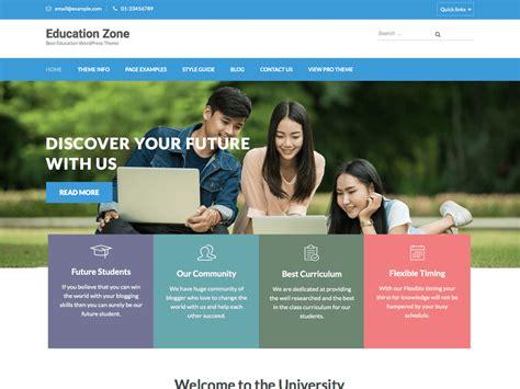 education zone wordpressorg