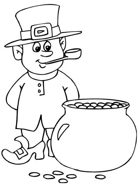 leprechaun coloring pages  coloring pages  kids