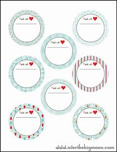 holiday jar labels With jelly jar labels printable free