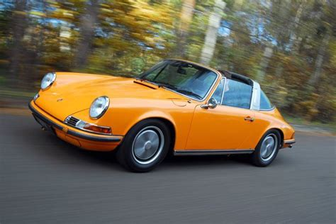vintage orange porsche review porsche 911 targa 1970 allgermancars net