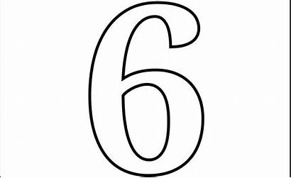 Number Printable Coloring Pages Numbers Letters Letter