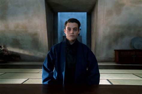 New 'No Time To Die' photo shares new look at Rami Malek's ...