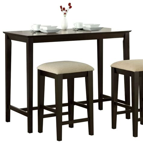 24 x 24 dining table monarch specialties 48 x 24 counter height kitchen table