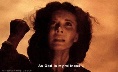 Witness God Scarlett Gone Wind Never Again