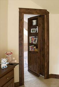 Hidden, Doors, Bookcases, Secret, Door