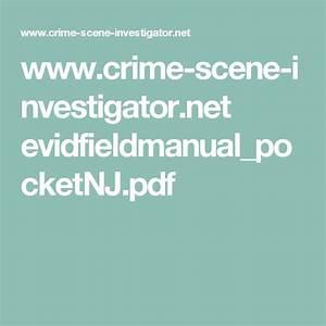 Pin On Csi  Evidence Collection Manual