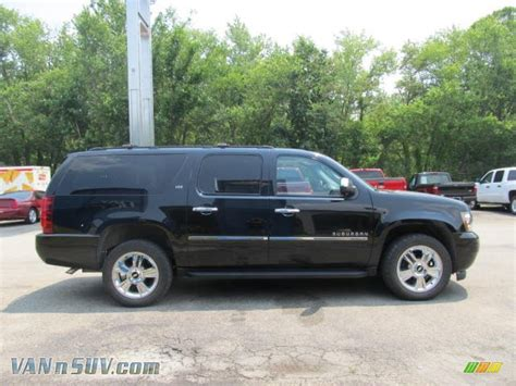 2010 chevrolet suburban ltz 4x4 in black granite metallic