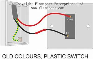 Light Switch Wiring Diagram One Way