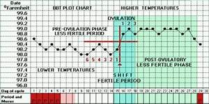 typical basal body temperature chart when digital basal thermometer ovulation predictor