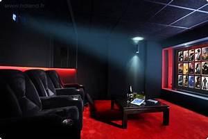 Cinema A La Maison : d co salle cinema maison exemples d 39 am nagements ~ Louise-bijoux.com Idées de Décoration