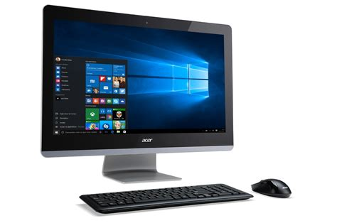 but informatique pc bureau pc de bureau acer aspire z3 715 001 4248724 darty