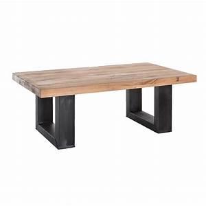 Couch Tisch Eiche : couchtisch eiche massiv metall 120 x 70 cm barano ~ Whattoseeinmadrid.com Haus und Dekorationen