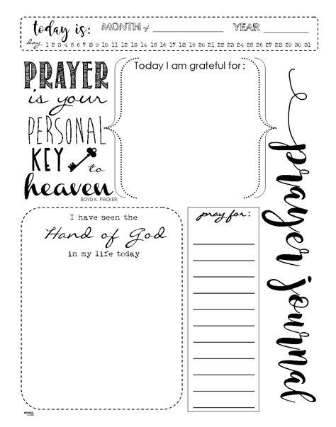 start  prayer journal   meaningful prayers