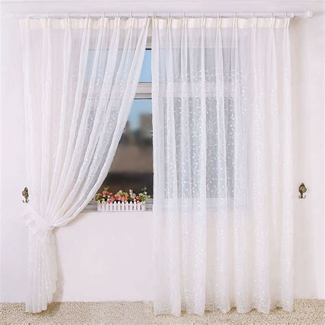 amazing sheer curtains on sale made of yarn