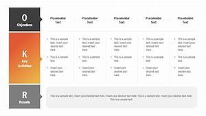 Organization Chart Powerpoint Template Tabular Okr Concept Presentation Slidemodel