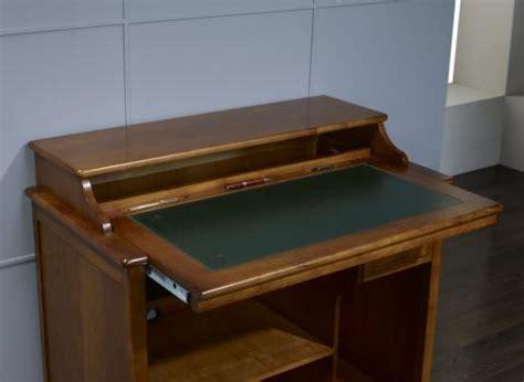 bureau merisier louis philippe petit bureau informatique malorie en merisier de style
